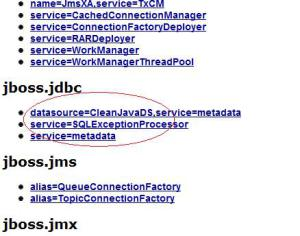 JBoss Dat Source Configuration